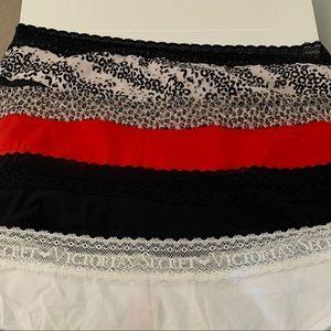 Set of 4 Victoria's Secret XL brief underwear NWT